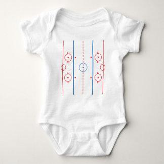 Hockey Rink Infant Baby Bodysuit