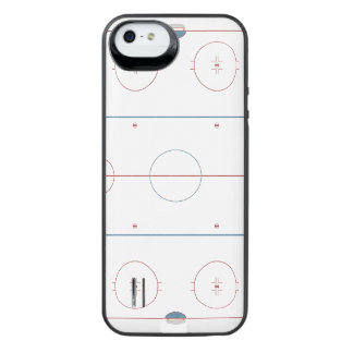 Hockey Rink iPhone SE/5/5s Battery Case