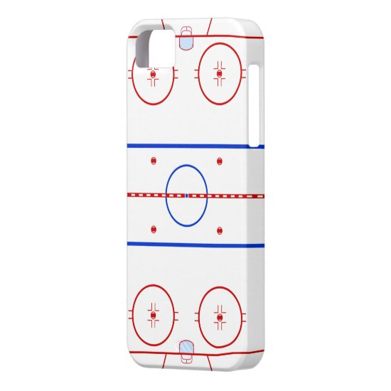 Hockey Rink iPhone SE/5/5s Case