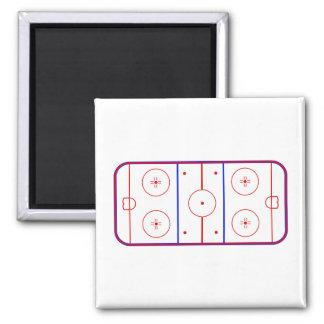 Hockey Rink Magnet