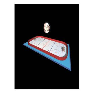 Hockey Rink Post Card