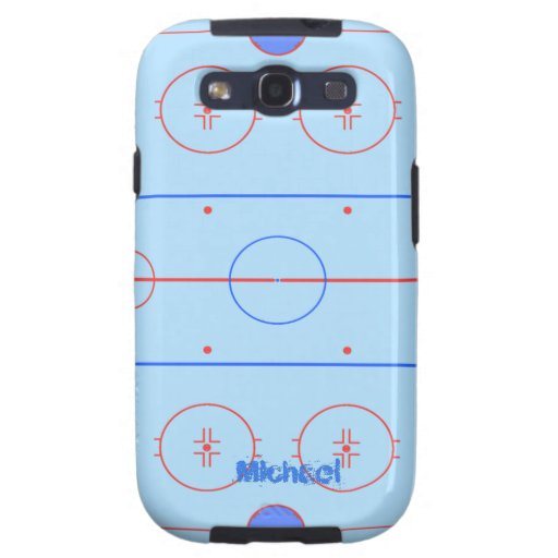 Hockey Rink Samsung Case-Mate Case Galaxy SIII Covers