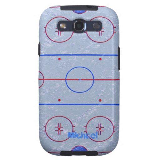 Hockey Rink Samsung Galaxy S3  Case Samsung Galaxy SIII Case