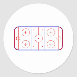 Hockey Rink Stickers