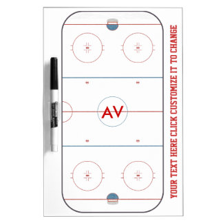 Hockey Rink White Board