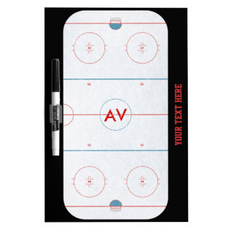 Hockey Rink White Board Dry Erase Whiteboard