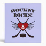 Hockey Rocks Binder