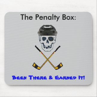 Hockey Roger BIG, The Penalty Box:             ... Mouse Pad