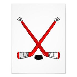Hockey rojo comunicado personal