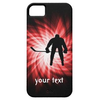 Hockey rojo iPhone 5 fundas