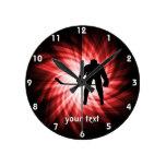 Hockey rojo reloj