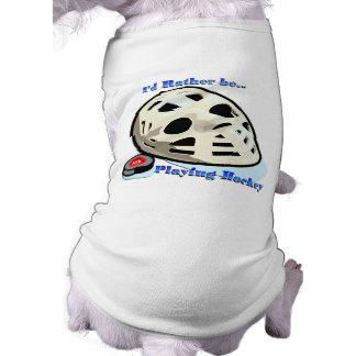 Hockey Camisetas De Perro