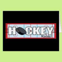 Hockey Rules Card