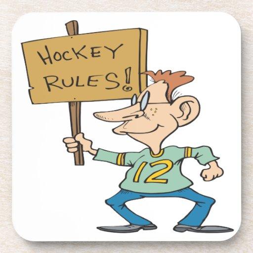 Hockey Rules Coaster