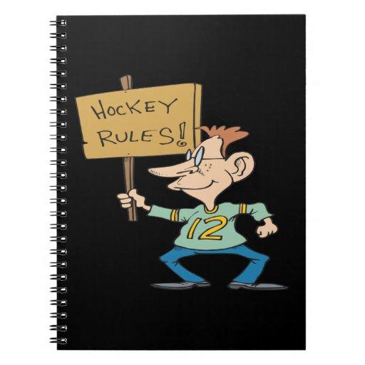 Hockey Rules Notebooks
