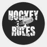Hockey Rules Sticker