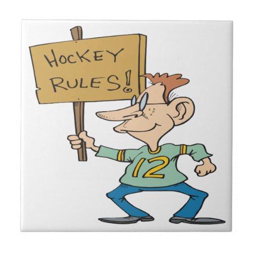 Hockey Rules Tile