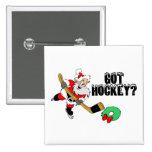 Hockey Santa Pins