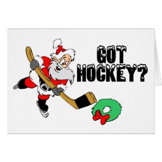 Hockey Santa Tarjeton