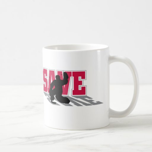 Hockey Save! Classic White Coffee Mug