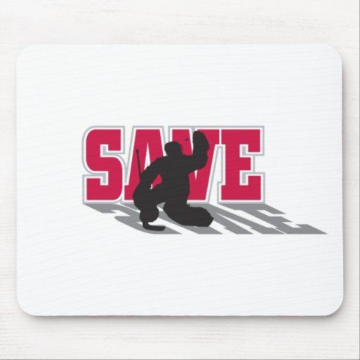 Hockey Save Mouse Pad
