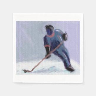 Hockey Score Art Paper Napkin
