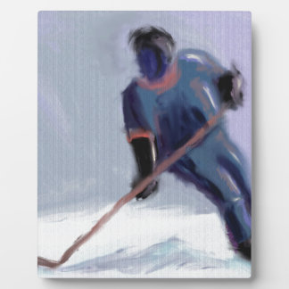 Hockey Score Art Plaque
