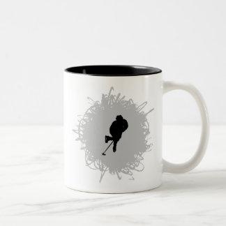Hockey Scribble Style Mugs