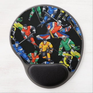 Hockey Season Ice Hockey Pattern Mouse Pad Gel Mouse Pad