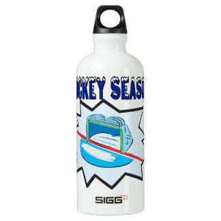 Hockey Season Water Bottle
