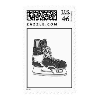 Hockey Skate Postage Stamps