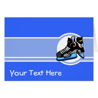 Hockey Skates; Blue Card