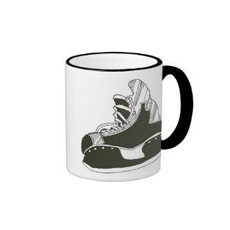 Hockey Skates Ringer Mug