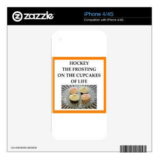 HOCKEY SKIN FOR iPhone 4S