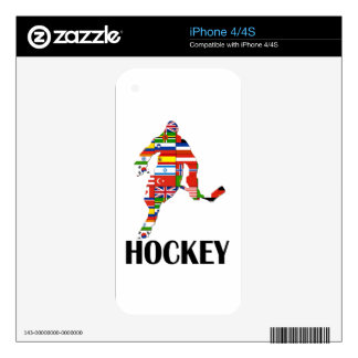 Hockey Skin For The iPhone 4