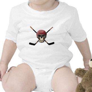 Hockey Skull & Crossed Sticks Creeper