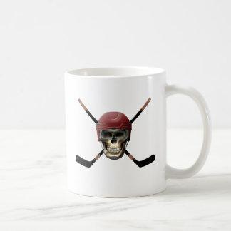 Hockey Skull Helm Coffee Mug
