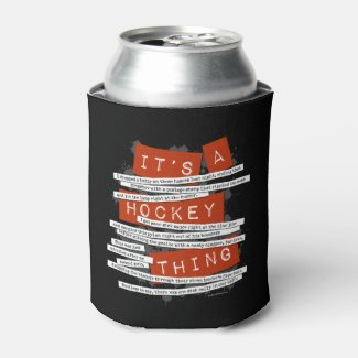 Hockey Slang Can Cooler