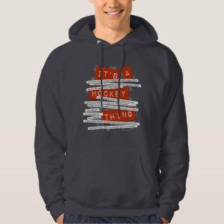 Hockey Slang Hooded Pullover