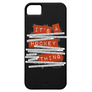 Hockey Slang iPhone 5 case