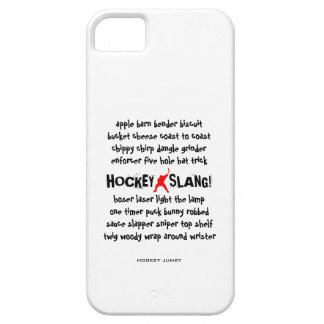 HOCKEY SLANG!` iPhone SE/5/5s CASE