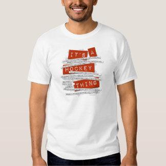 Hockey Slang Tee Shirt