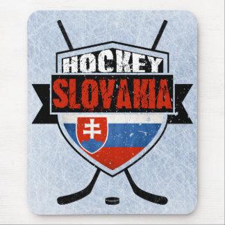 Hockey Slovakia Flag Design Mouse Pad