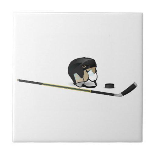 Hockey sobre hielo azulejo