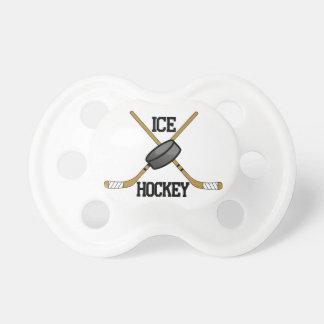 Hockey sobre hielo chupetes de bebé