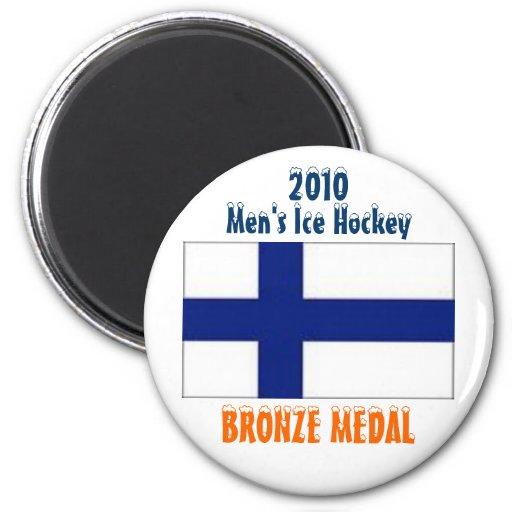 Hockey sobre hielo de 2010 hombres - medalla de br iman