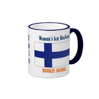 Hockey sobre hielo de 2010 mujeres - medalla de br taza a dos colores