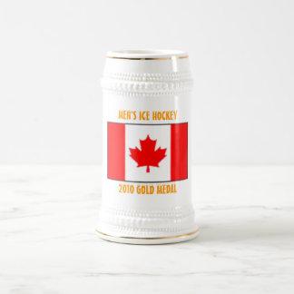 Hockey sobre hielo de los hombres de Canadá - Jarra De Cerveza