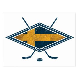 Hockey sobre hielo de Sverige del sueco Postales