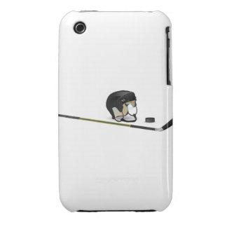 Hockey sobre hielo iPhone 3 Case-Mate cárcasa